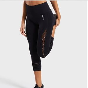 Gymshark Seamless High Waisted Cropped Leggings XS
